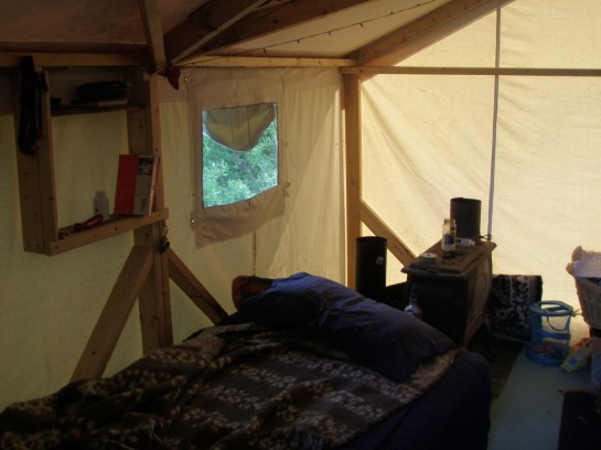 Facebook ... & canvas tent | Dacha Project